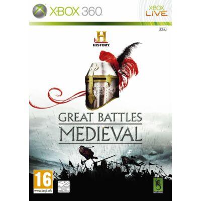 History Great Battles Medieval Xbox 360 (használt)