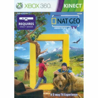 Kinect Nat Geo TV America The Wild Xbox 360 (használt)
