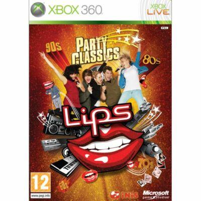 Lips: Party Classics 90-es évek zenéi Xbox 360 (használt)