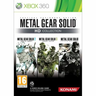 Metal Gear Solid (HD Collection) Xbox 360 (használt)