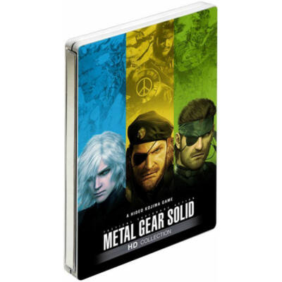 Metal Gear Solid HD Collection fémdobozos Xbox 360 (használt)