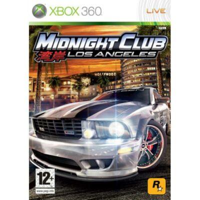 Midnight Club Los Angeles Xbox One Kompatibilis Xbox 360 (használt)
