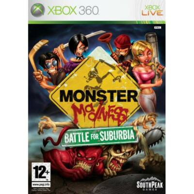 Monster Madness Battle for Suburbia Xbox 360 (használt)
