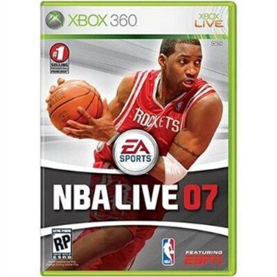 NBA Live 07 Xbox 360 (használt)
