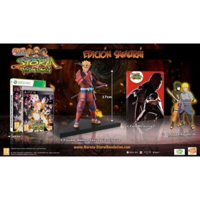 Naruto Shippuden Ultimate Ninja Storm Revolution Samurai Edition +Statue Xbox 360 (használt)