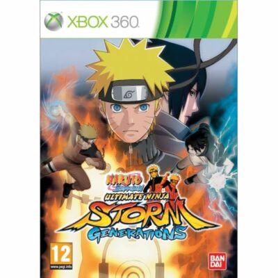 Naruto Shippuden: Ultimate Ninja Storm Generations Xbox 360 (használt)