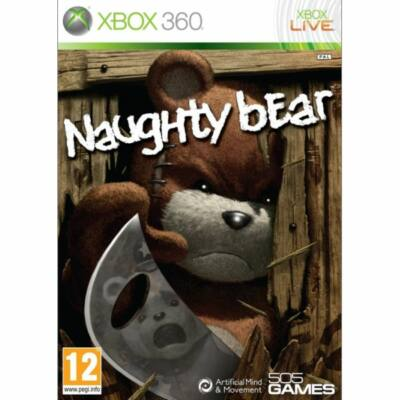 Naughty Bear Xbox 360 (használt)