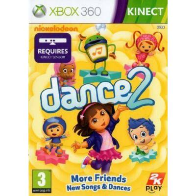 Nickelodeon Dance 2 Xbox 360 (használt)