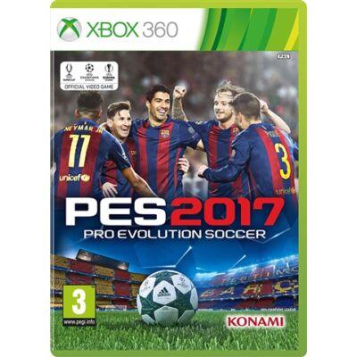 Pro Evolution Soccer 2017 Xbox 360 (használt)