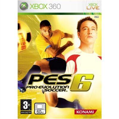 Pro Evolution Soccer 6 Xbox 360 (használt)