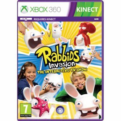 Rabbids Invasion The Interactive TV Show Xbox 360 (használt)