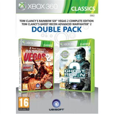 Rainbow Six Vegas 2 + Ghost Recon A.W 2 Xbox 360 (használt)