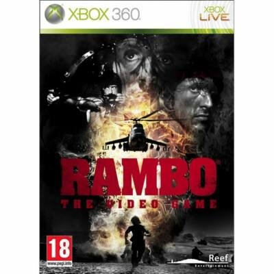 Rambo The Video Game Xbox 360 (használt)