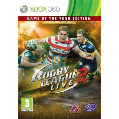Rugby League Live 2 - GOTY Xbox 360 (használt)