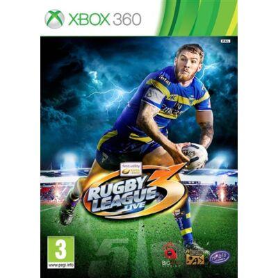 Rugby League Live 3 Xbox 360 (használt)