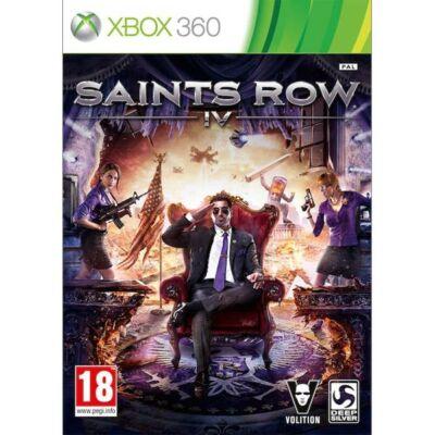 Saints Row 4 Xbox One Kompatibilis Xbox 360 (használt)