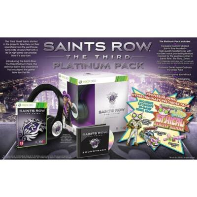 Saints Row The Third Platinum Pack Xbox 360 (használt)
