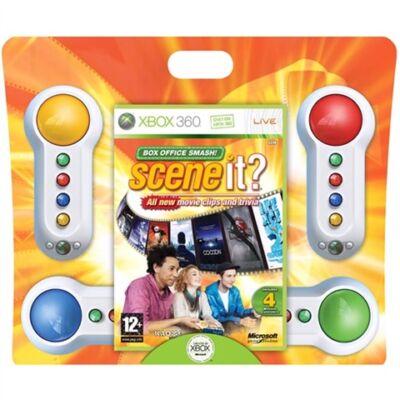 Scene It Box Office Smash & 4 Buzzers Xbox 360 (használt)