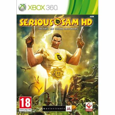 Serious Sam HD The First and Second Encounters Xbox 360 (használt)