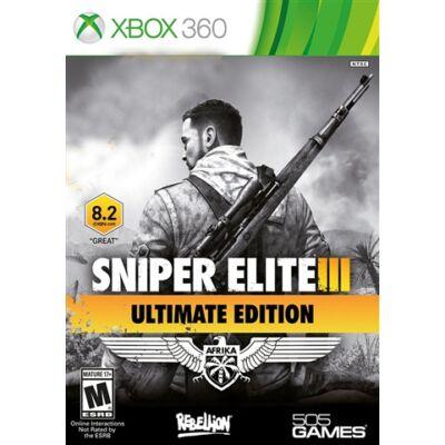Sniper Elite 3 - Ultimate Edition Xbox 360 (használt)