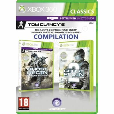 Ghost Recon Future Soldier + Advanced Warfighter 2 (double pack) Xbox 360 (használt)