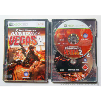 Tom Clancy's Rainbow Six Vegas 2  fémdobozos Xbox 360 (használt)