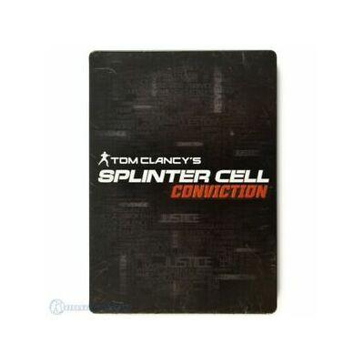 Tom Clancy's Splinter Cell Conviction fémdobozos Xbox 360 (használt)