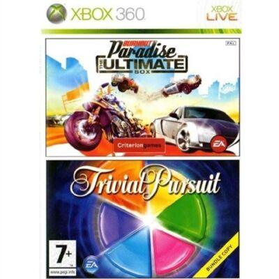 Trivial Pursuit + Burnout Paradise Ultimate Xbox 360 (használt)