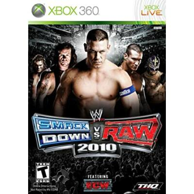 WWE SmackDown VS RAW 2010 Xbox 360 (használt)