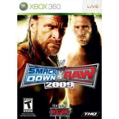 WWE SmackDown vs Raw 2009 Xbox 360 (használt)