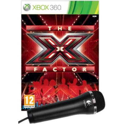 X-Factor With Microphone Xbox 360 (használt)