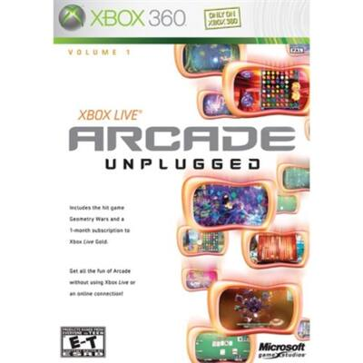 XBLA Compilation GWRE, Bejeweled 2, etc Xbox 360 (használt)