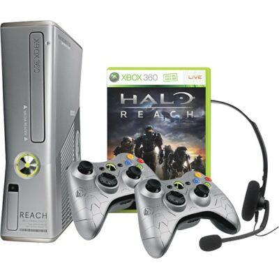 Xbox 360 Slim 250 Gb Halo Reach Limited Edition (használt, 3 hó garanciával)