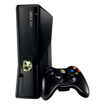 Xbox 360 Slim 4 Gb (használt, 3 hónap garanciával)