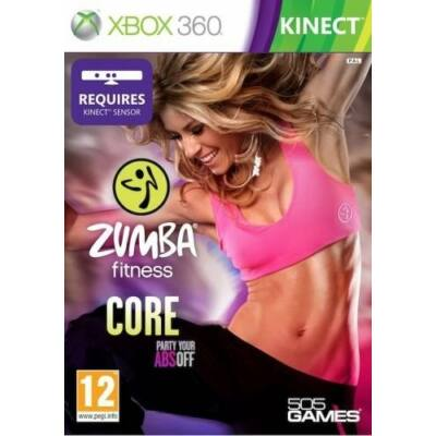 Zumba Fitness Core Kinect Xbox 360 (használt)