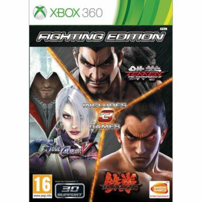 Fighting Edition (Tekken Tag T 2, Tekken6, Soul Calibur V) Xbox 360 (használt)