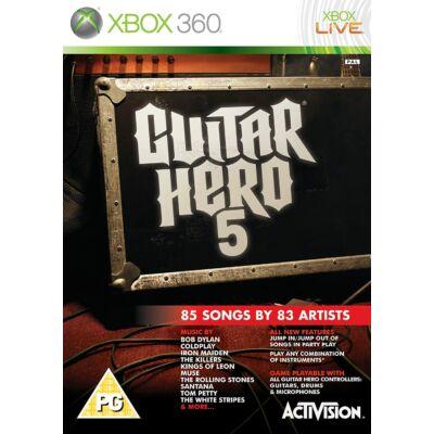 Guitar Hero 5 Xbox 360 (használt)