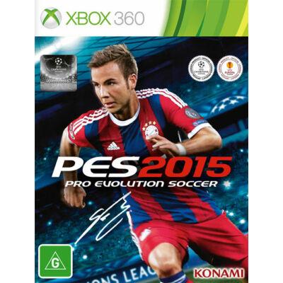 Pro Evolution Soccer PES 2015 Xbox 360 (használt)