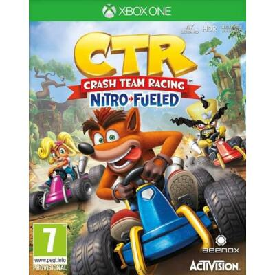 CTR Crash Team Racing Nitro-Fueled Xbox One (használt)
