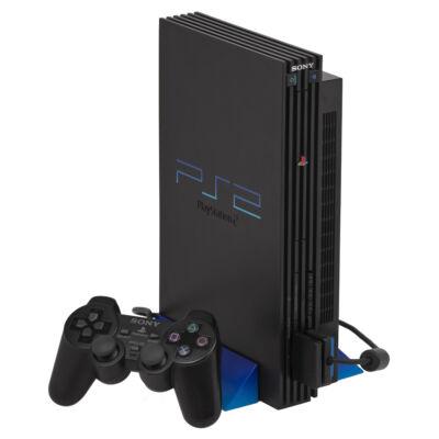 PlayStation 2 + Memóriakártya (használt, 1 hónap garanciával)